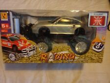 Pleine fonction radio controlled Cross Country voiture argent