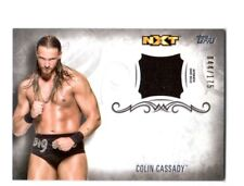 WWE Colin Cassady 2016 Topps Undisputed Event Worn Shirt Relic Card SN 44 of 175