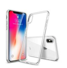 iPhone X Case Handyhülle Komplett Schutz Tasche Save Silikonhülle Transparent
