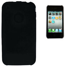 Coque Iphone 3G 3GS Silicone noir