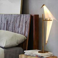 Modern Desk Lamp Swing Bird Table Light fit for Bedroom Study Room Living Room