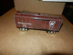 MARX  Pennsylvania Box Car,  New Production, No OB, 8 Wheel
