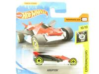 Hotwheels Airuption Red/Black Experimotors Short Card 1 64 Scale Sealed