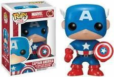 Funko Pop Marvel: Captain America Vinyl Bobble-Head Item #2224 w/ Protector