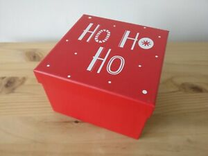 Red Christmas gift box (NEW)