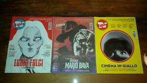 LOTTO N.3 RIVISTA FILMTV - Mario Bava - Lucio Fulci - Thriller Giallo Italiano