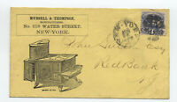 c1870 #114 ad cover NYC stoves/ovens [y6093]
