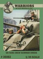 Warriors 1:35 US Tank Crew Summer Dress - 3 Resin Bust Figures Kit #35082