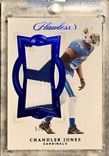 2018 Panini FLAWLESS Chandler Jones 5/5 SSP 2 Color Dual Patch PRO BOWL w/MAG