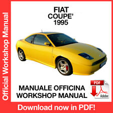 FIAT COUPE' DAL 1995. Service Manuale Officina Riparazione Workshop Manual ENG