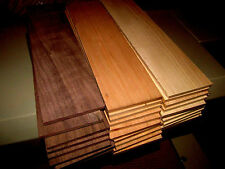 MULTIPAK (10) EACH THIN, KILN DRIED, SANDED MAPLE, WALNUT, CHERRY 12 X 3 X 3/8""
