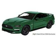 DDA Collectibles 79352g 1/24 Green 2018 Ford Mustang GT Right Hand Drive BRAND N