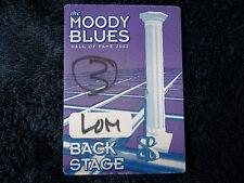 THE MOODY BLUES - Sun 19th May 2002, Royal Albert Hall, London, Backstage Pass