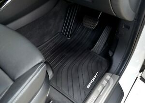 Rugged Rubber Floor Mats Tailored Heavy Duty for BMW X3 X4 X5 X6