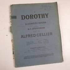 VOCAL SCORE Alfred Cellier-Dorothy