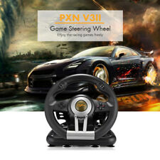 PXN V3II Racing Game Steering Wheel With Brake Pedal PC PS3 PS4 &Xbox One Wheel