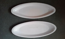 """George Foreman Grill 9 1/4"""" White Drip Tray Replacement Grease Catch 9.25 Lot"""