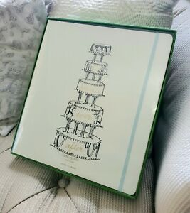 NIB KATE SPADE NY Happily Ever After Bridal Planner Tiered Wedding Cake