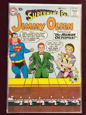 SUPERMAN'S PAL JIMMY OLSEN 41  Professionally Graded FN+ 6.5 SUPERMAN