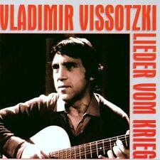 Vladimir Vissotski - Lieder vom Krieg PLÄNE RECORDS CD 1995 RAR!