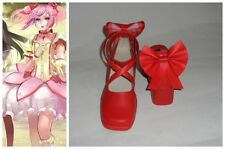 Puella Magi Madoka Magica Kaname Cosplay Costume Boots Boot Shoes Shoe UK