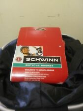 SCHWINN new Bicycle Bike Basket Front Fabric Quick Release Waterproof Cover