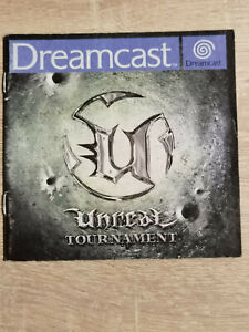 Unreal Tournament Sega Dreamcast (Manual Only)