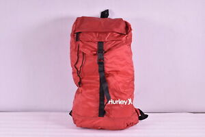 Hurley Renegade Lightweight Packable Backpack, Team Red  & Black