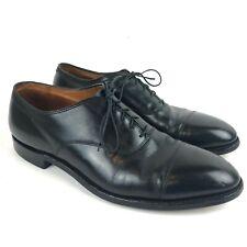 Alden Men's 907 Bal Cap Toe Black Calfskin Oxford Dress Shoes 13 AA/B