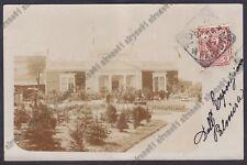 TORINO CITTÀ 509 ESPOSIZIONE INTERNAZIONALE ORTICOLTURA 1904 REAL PHOTO viagg.