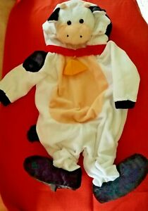 COW Costume 6-12 mos infant toddler Dress up Kids Farm Animal child