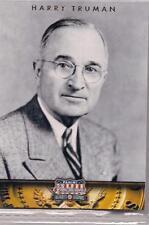 2012 Panini Americana Heroes & Legends Harry Truman