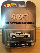 "Hot Wheels Retro Entertainment 1/64 ""James Bond 007"" Lotus Esprit S1"