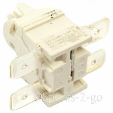 Double Pole On Off Switch Button & Housing Unit for Hotpoint-Ariston Dishwasher