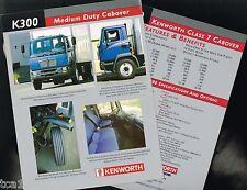 Kenworth K300 Medium CabOver Truck Brochure / Flyer: Class 7, K-300, 1999,