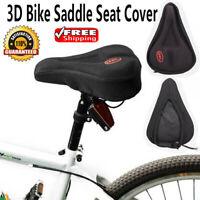 Fahrrad Fahrrad rutschfest 3D Gel Sattel Sitzbezug Pad gepolstert weiches Kissen