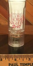 Halloween Horror Nights 2007 Universal Studios Orlando Blinking Jack Shot Glass