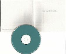 LISA BROKOP She can't Save Him PROMO RADIO DJ CD single w/ PRINTED LYRICS