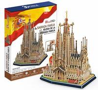 CUBIC FUN Sagrada Familia BARCELONA PUZZLE 3D NEU UND OVP