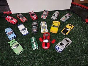 1/32 Slot Car Auto Salvage - Bodies, Interior, Motors.....