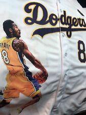 Kobe Bryant Los Angeles Dodgers Baseball Jersey New Nike style.