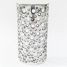 LUCE Parete tratteggiata in alluminio copertura, copertura fatta da artigiani di FES, Marocco