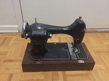 Vintage Graybar Sewing Machine On Woodbase