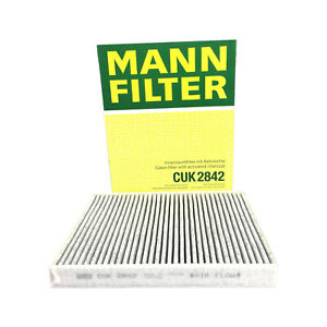 Mann OEM Cabin Air Filter CUK2842 For Audi Q7 Porsche Cayenne VW Touareg New