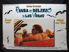 FOTOBUSTA CINEMA - PAURA E DELIRIO A LAS VEGAS - JONNY DEPP - 1998 - COMMEDIA