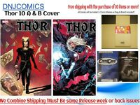 Thor # 10 Cover A & Knullified Variant 12/2/2020 Marvel Comics Cates PreSale NM