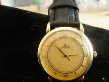 MAN'S OMEGA SOLID 18K GOLD AUTOMATIC WATCH