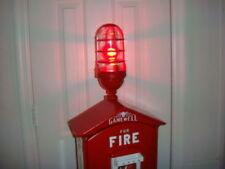GAMEWELL FIRE ALARM BOX LIGHT - FITS AL BRANDS (FREE RED LED BULB & INST KIT)