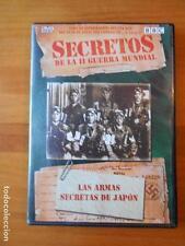 DVD LAS ARMAS SECRETAS DE JAPON - SECRETOS DE LA II GUERRA MUNDIAL (P5)