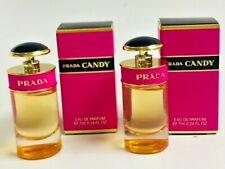 Prada CANDYEau de Parfum  Mini  bottles 0.24 Oz EDP Splash  - 2 bottles